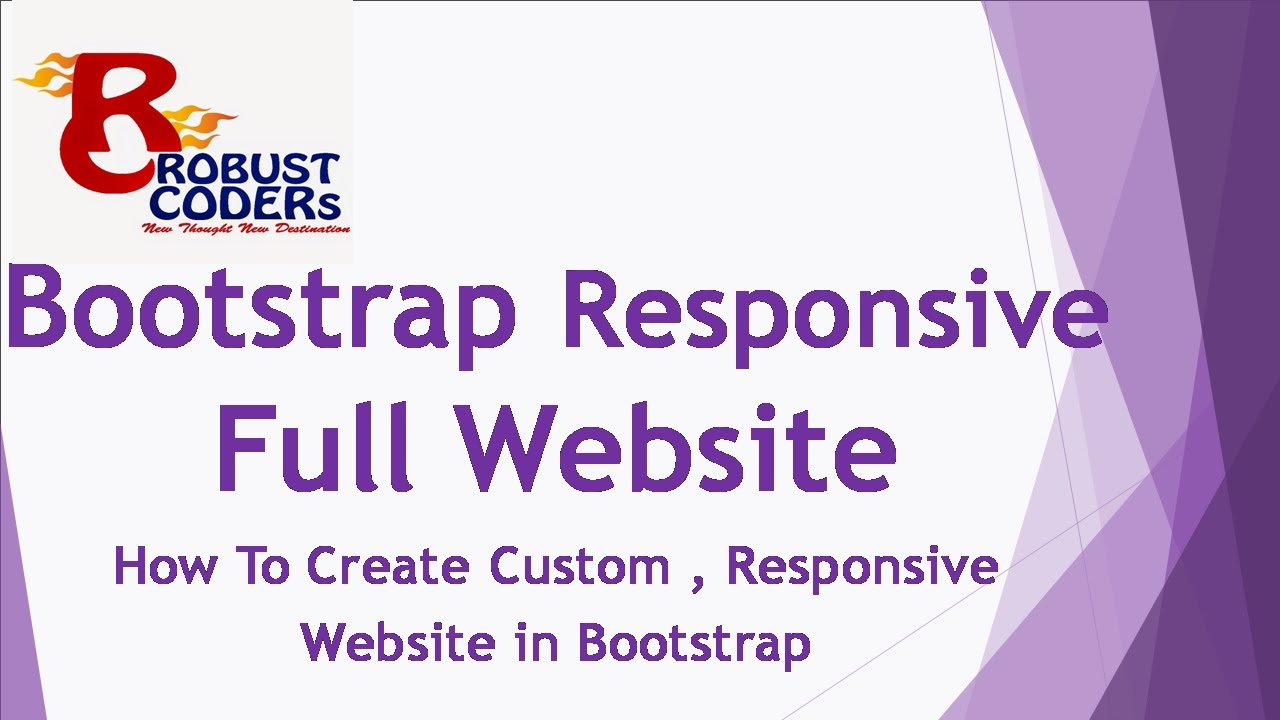How To Create Responsive Website In Bootstrap Hindi Best Template Design Web Design In Bootstrap Designing For Uncertainty